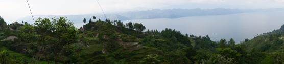 View from Lake Toba.