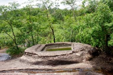At well and Phu Phrabat Historical Park.
