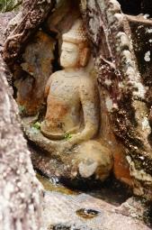 Buddha Sculpture Phu Phrabat Historical Park.