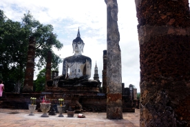 Sukhothai with friends from Thoen.
