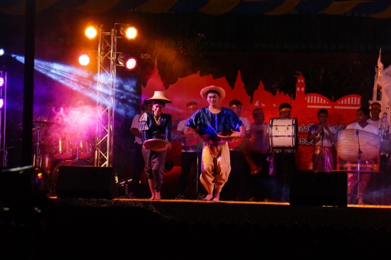 Cultural dance performance.