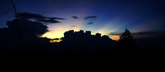 Sunset in Sobprab